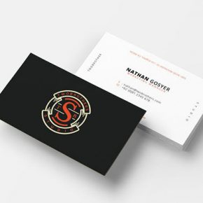25 Business Card Templates With Awesome Logo