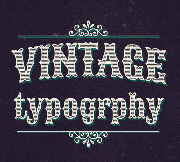 Vintage/Retro Text Col2