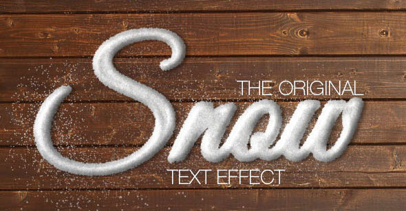 Snow Text Effect / Generator