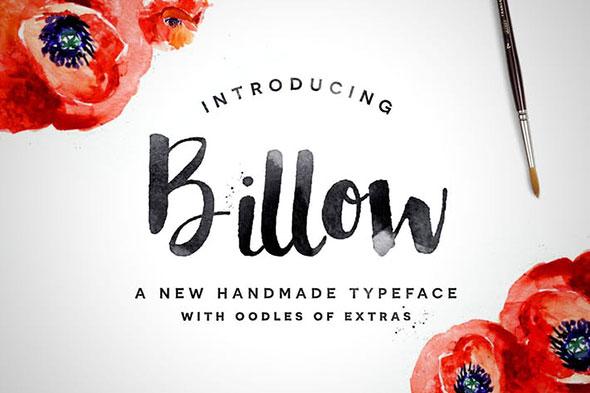 Billow Font