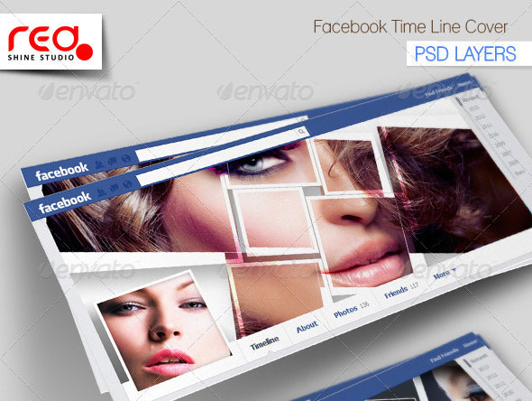 Photography Facebook Timeline Template