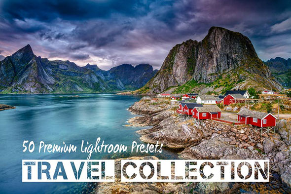 PRO Landscape and Travel Lightroom Presets