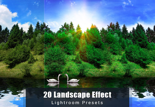 20 Landscape Effect | Lightroom Preset
