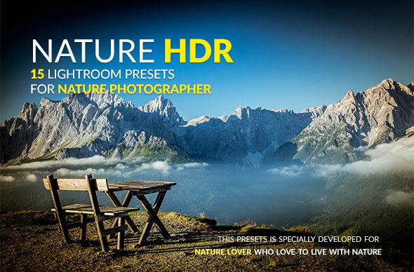Nature HDR Lightroom Presets