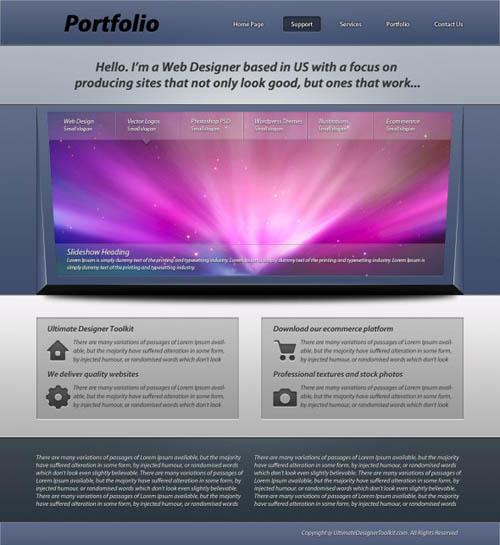 41-Web-portfolio-layout2