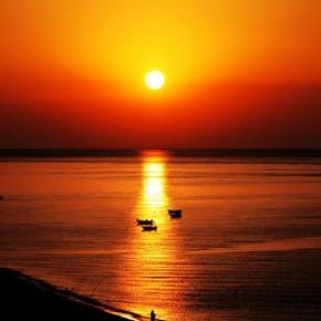 Blushing Sunset Photography