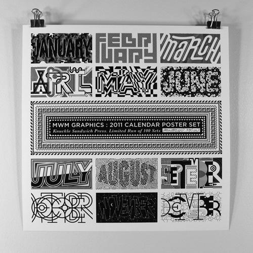 typographycalendar2011