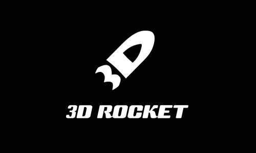 3D ROCKET - Logos8