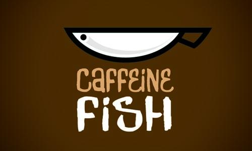 Caffeine Fish - Logos 53