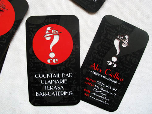 Cocktail Bar Business Card7