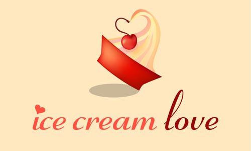 Ice Cream Love - Logos83