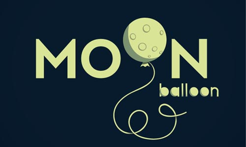 MOON BALLOON - Logos87