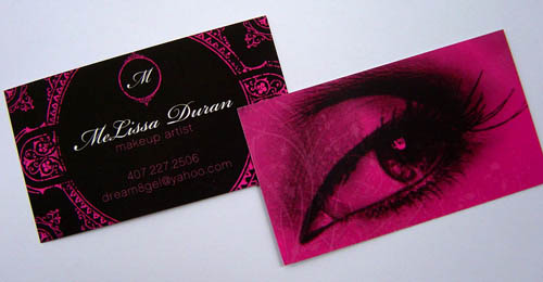 Melissa Duran - Makeup Artist - Business Cards 48