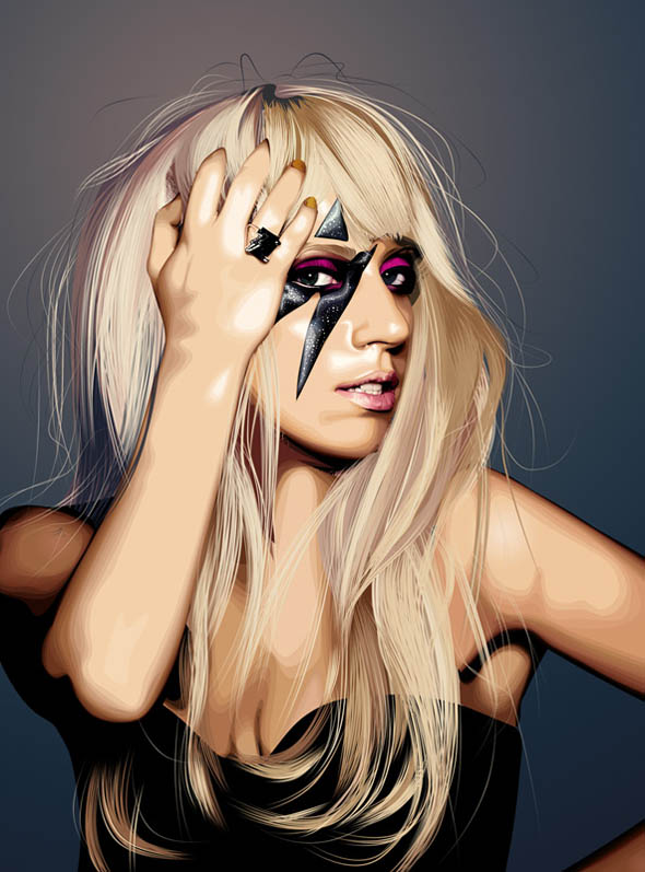 lady_gaga_vector_portrait_7