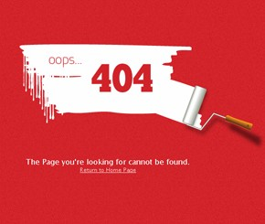 30 Inspiring & Informative 404 Error Pages