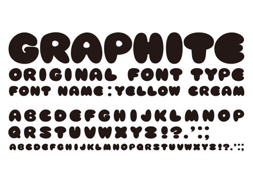 yellowcreamfont29