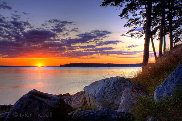 Bass Harbor Sunset52