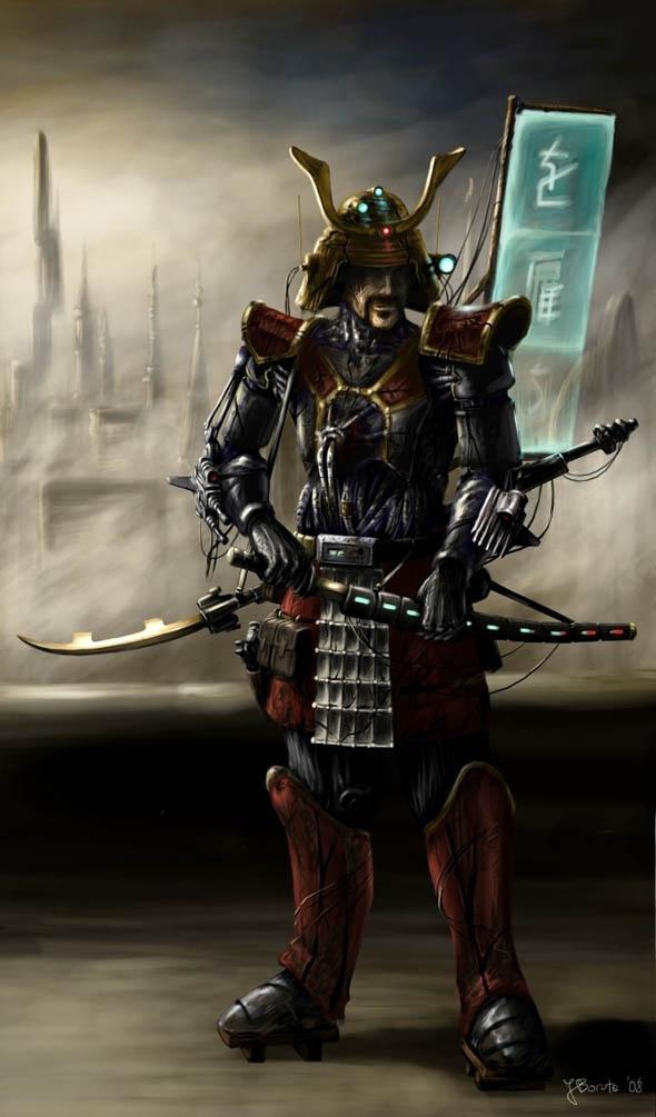 Cyberpunk_Samurai_by_JanBoruta_13