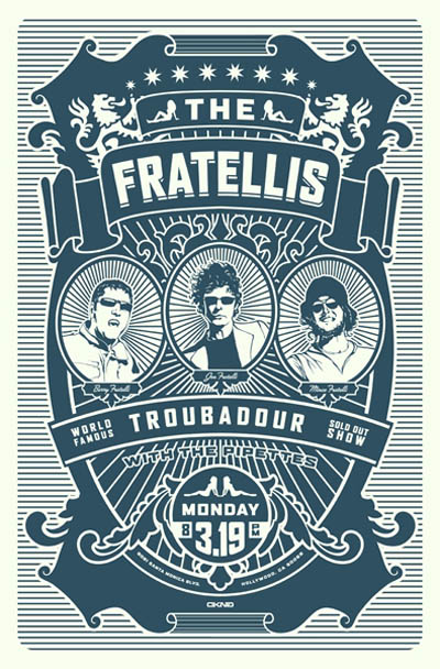 The _Fratellis_Poster_3