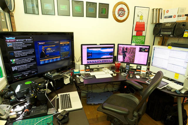 25 best home office workstation setups | pixel curse