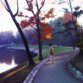 40 Beautiful Examples Of Landscape Digital Paintings