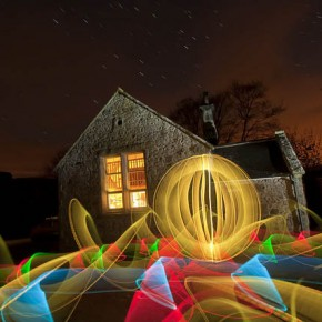 40 Captivating Examples Of Light Painting Photography