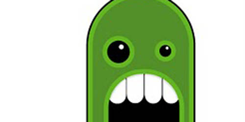 Blob Monster in Illustrator – The Scream_89