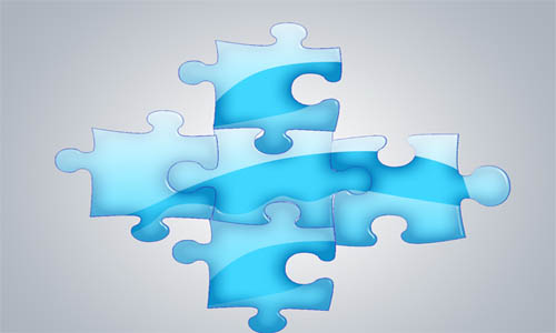 Create Glossy Puzzle Wallpaper_52