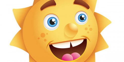 Create a Happy Sun Character_112