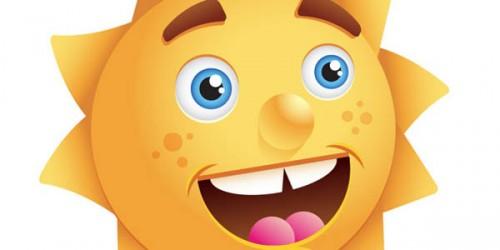 Create a Happy Sun Character_112