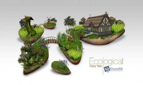 Creating an Ecological Fairy Tale Wallpaper _2