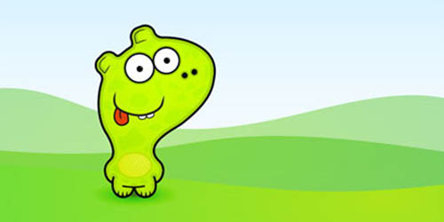 Cute Vector Monster from a Pencil Sketch_15