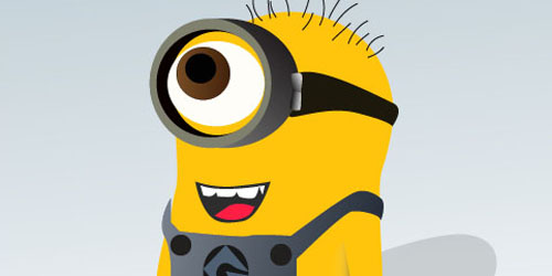 Design a Despicable Me 'Minion' in Illustrator_4