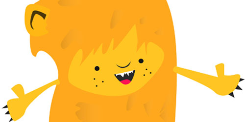 Design a Little Lion Man in Illustrator_5
