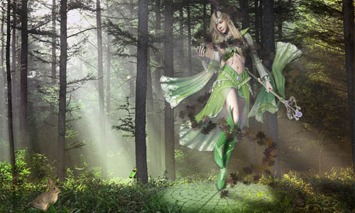 Forest Fairy Wallpaper_75