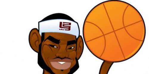 LeBron James Cartoon Character_43