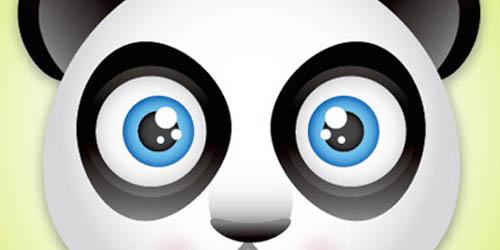 Panda Bear Face Icon_23