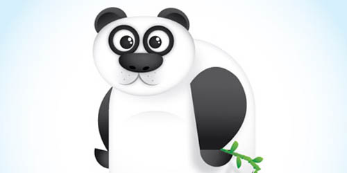 Panda Character in Illustrator_107