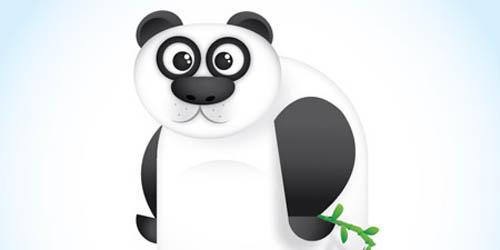 Panda Character in Illustrator_107