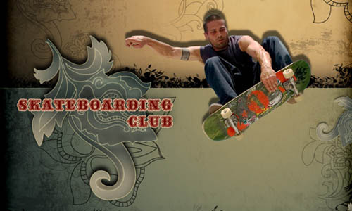 Skateboarding Club Wallpaper_44