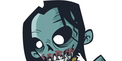 Stinking Zombie Flesh-Eater in Illustrator_90