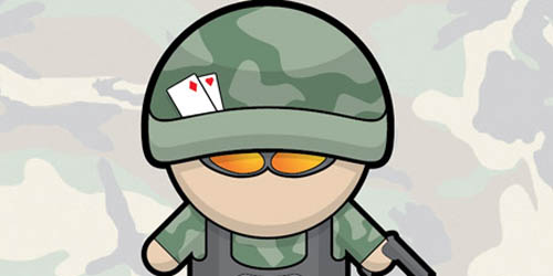 Vector Soldier Character in Illustrator_95