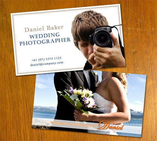 Wedding Photo Business Card_42