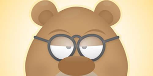 face of a grumpy bear_104