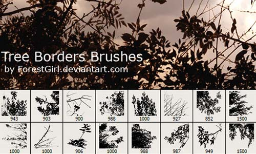 tree_borders_brushes_15