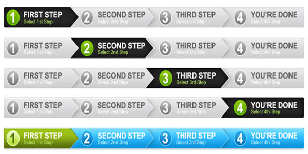 4 step process panel in 2 colors (PSD)_7