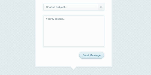 Modal Box Contact Form PSD_98