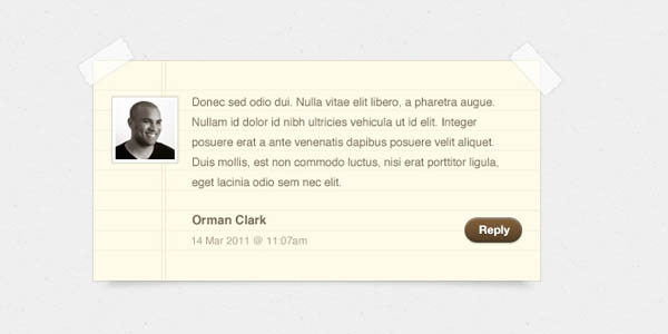 Notepaper Blog Comments PSD_96