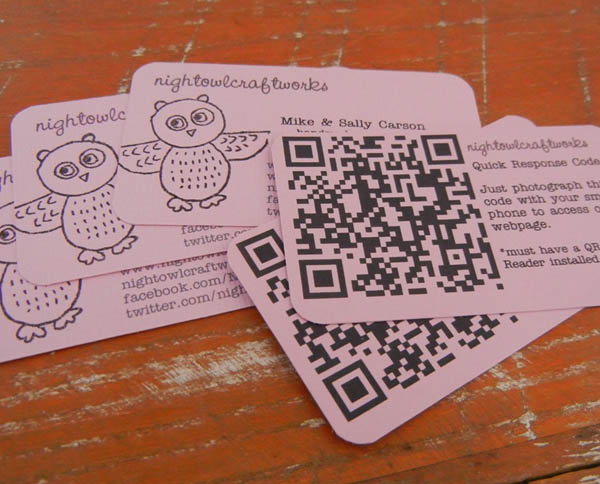 30 Awesome QR Code Business Cards | Pixel Curse