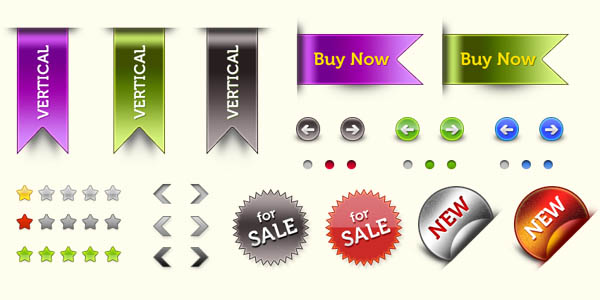 Web elements pack (PSD & PNG)_11